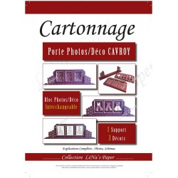 Cahier à télécharger - Le Porte Photo Cavrois - Cartonnage - CT22