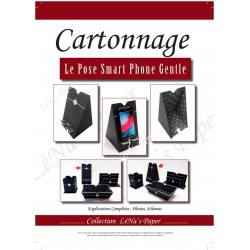Cahier à télécharger - Pose Smart Phone GENTLE - Cartonnage - CT32